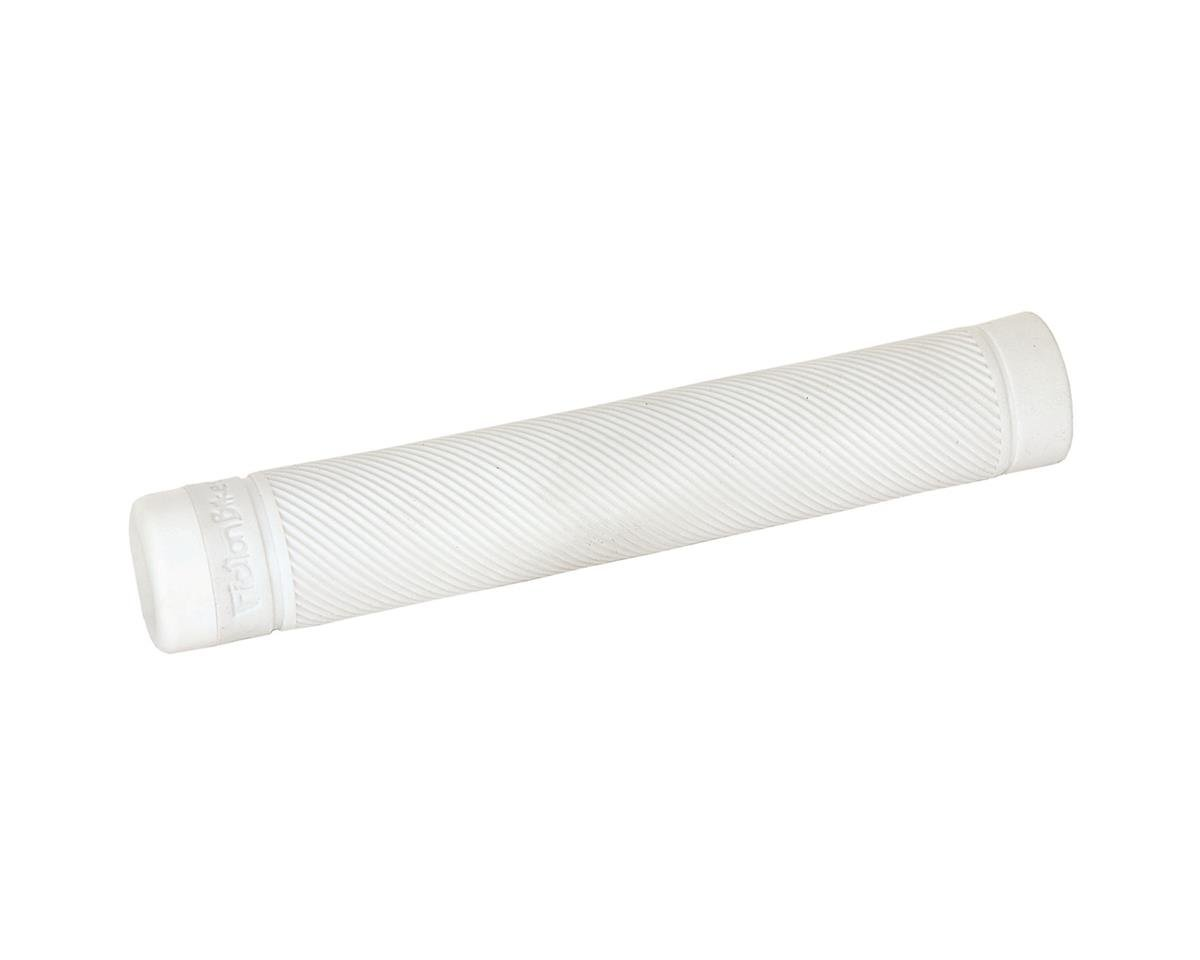 Fiction Troop Flangeless Grips (Pair) (White)