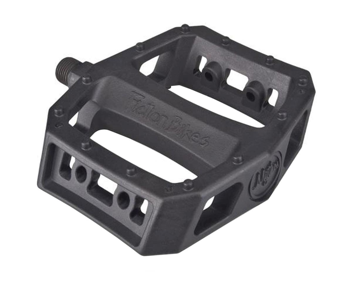 "Fiction Mythos PC Pedals (Black) (9/16"")"
