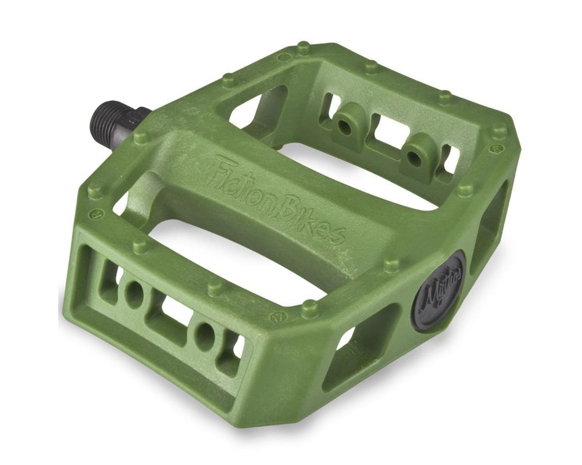 "Fiction Mythos PC Pedals (Spec Ops Green) (9/16"")"