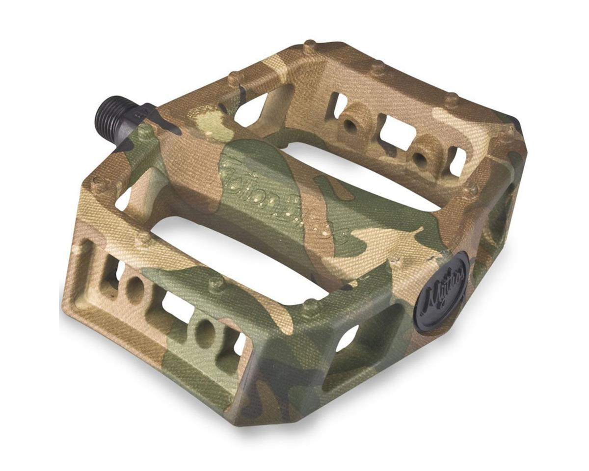 "Fiction Mythos PC Pedals (Jungle Camo) (9/16"")"