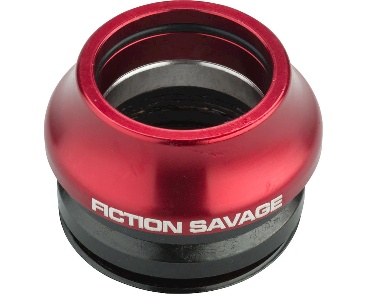 "Fiction Savage Integrated Headset (Red) (1-1/8"")"