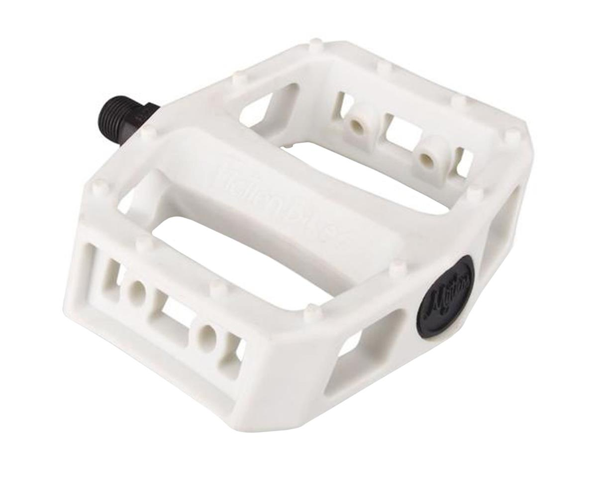 "Fiction Mythos PC Pedals (White) (9/16"")"