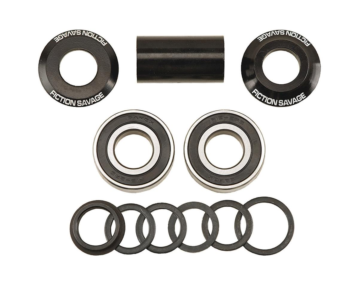 Fiction Savage Mid BB Kit (Black) (22mm)