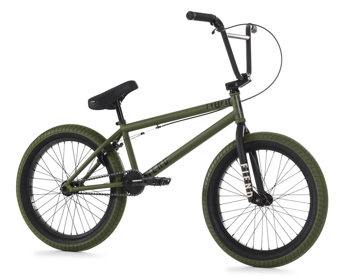 """Fiend 2020 Type O+ BMX Bike (20.75"""" Toptube) (Flat Green)"""