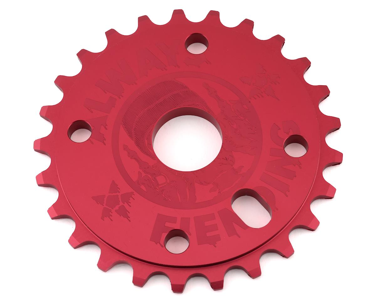 Fiend Reynolds Sprocket (Matte Red) (25T)