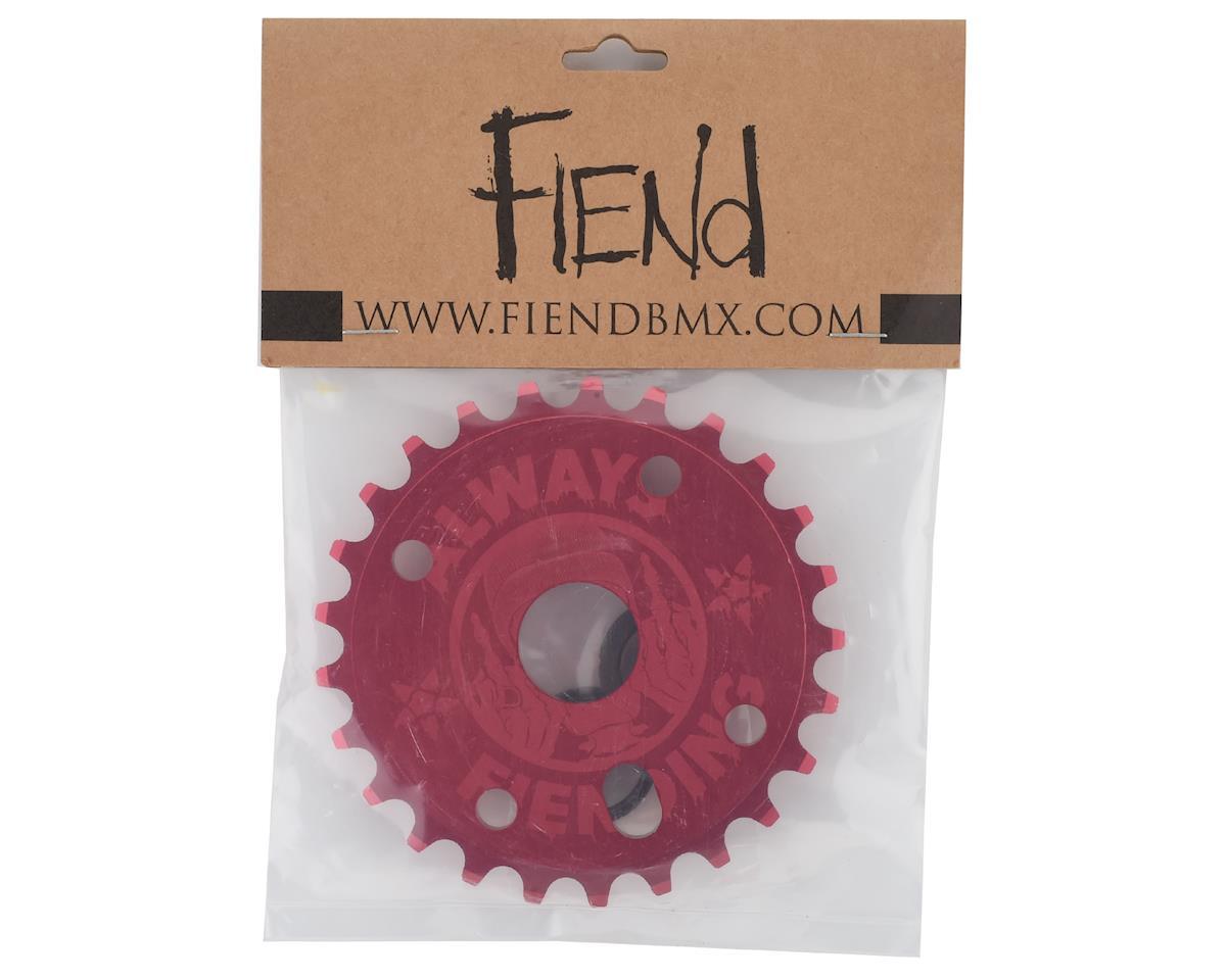 Image 3 for Fiend Reynolds Sprocket (Matte Red) (25T)