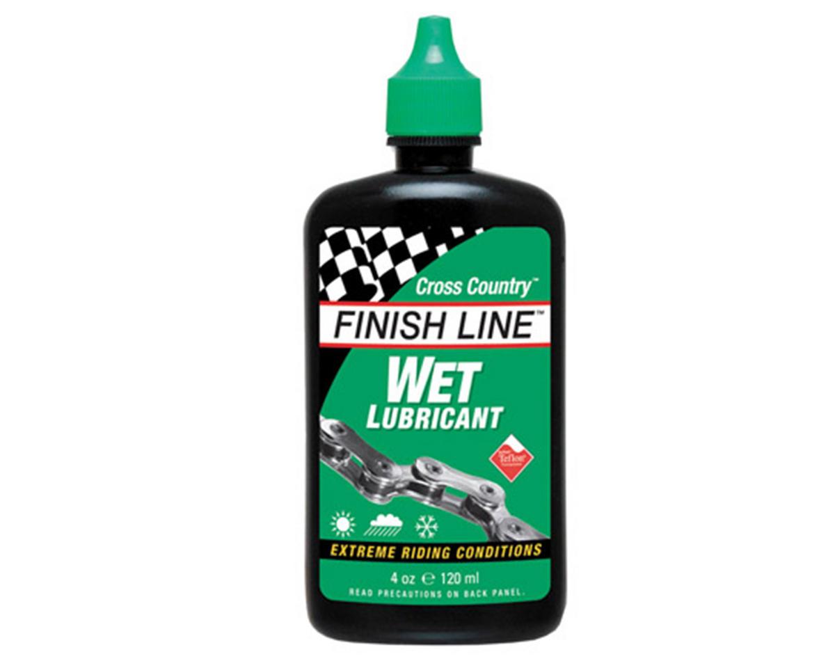 Finish Line WET Lubricant Squeeze Bottle (4oz)