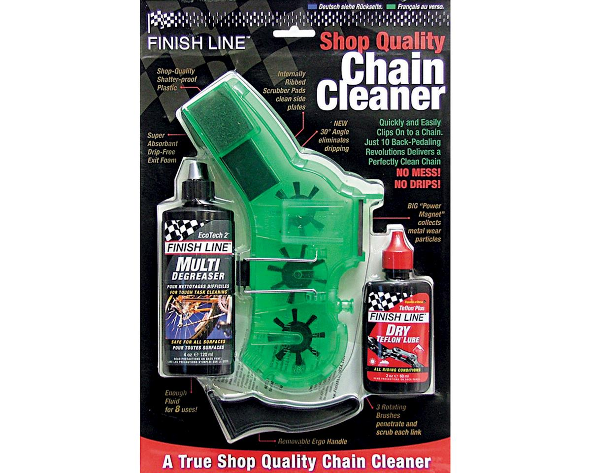 Pro Chain Cleaner with 2oz DRY Lube and 4oz EcoTech Degreaser