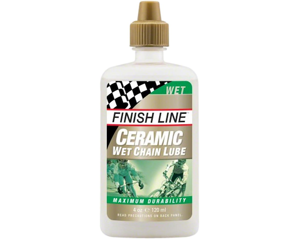 Finish Line Ceramic Wet Lube, 4oz Drip
