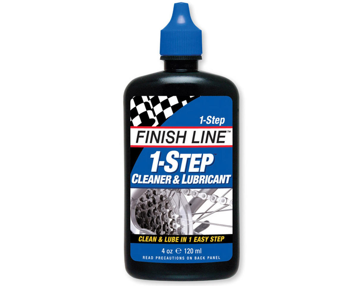 Finish Line 1-Step Cleaner & Lubricant Squeeze Bottle (4oz)