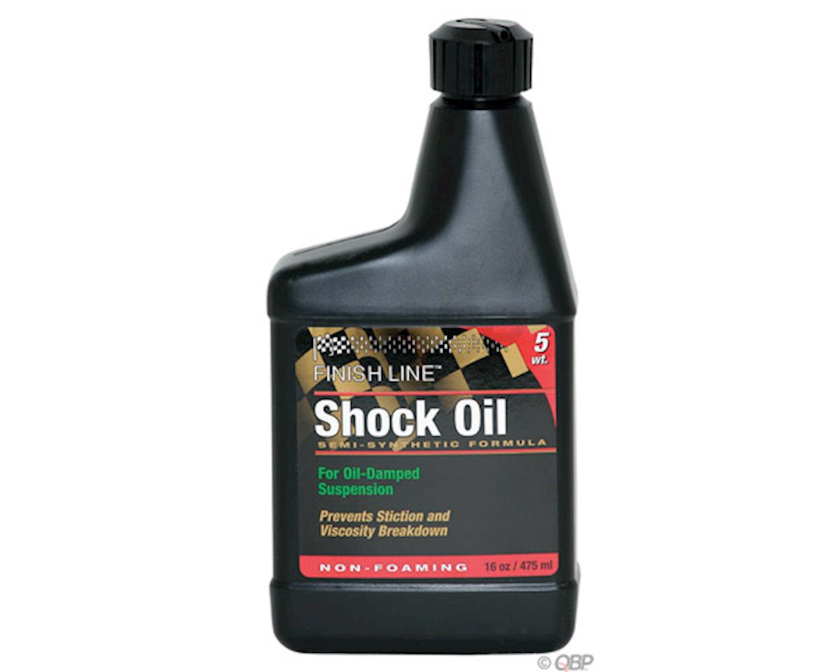 Finish Line Semi-Synthetic shock oil, 2.5wt (16oz)