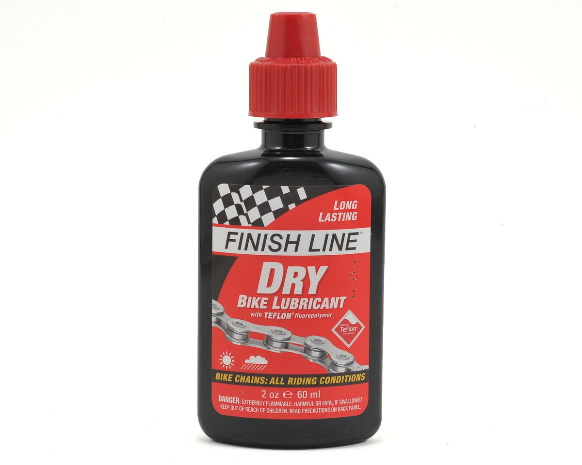 Finish Line Dry Teflon Chain Lube Squeeze Bottle (2oz)