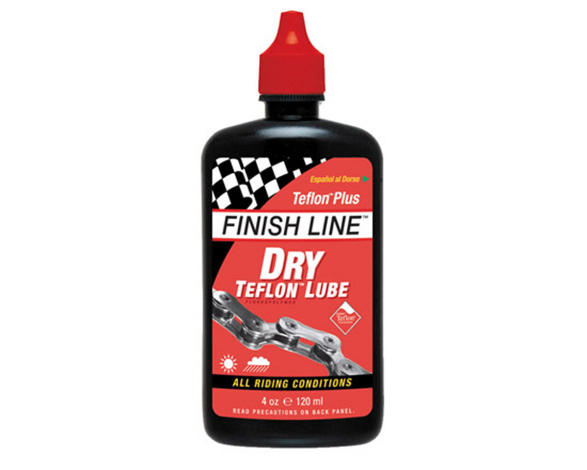 Finish Line Dry Teflon Chain Lube Squeeze Bottle (4oz)