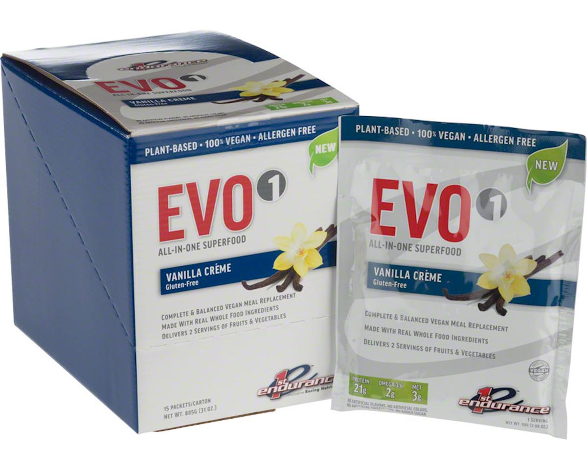 EVO1 Recovery Drink Mix: Vanilla, 15 single Serving Packets