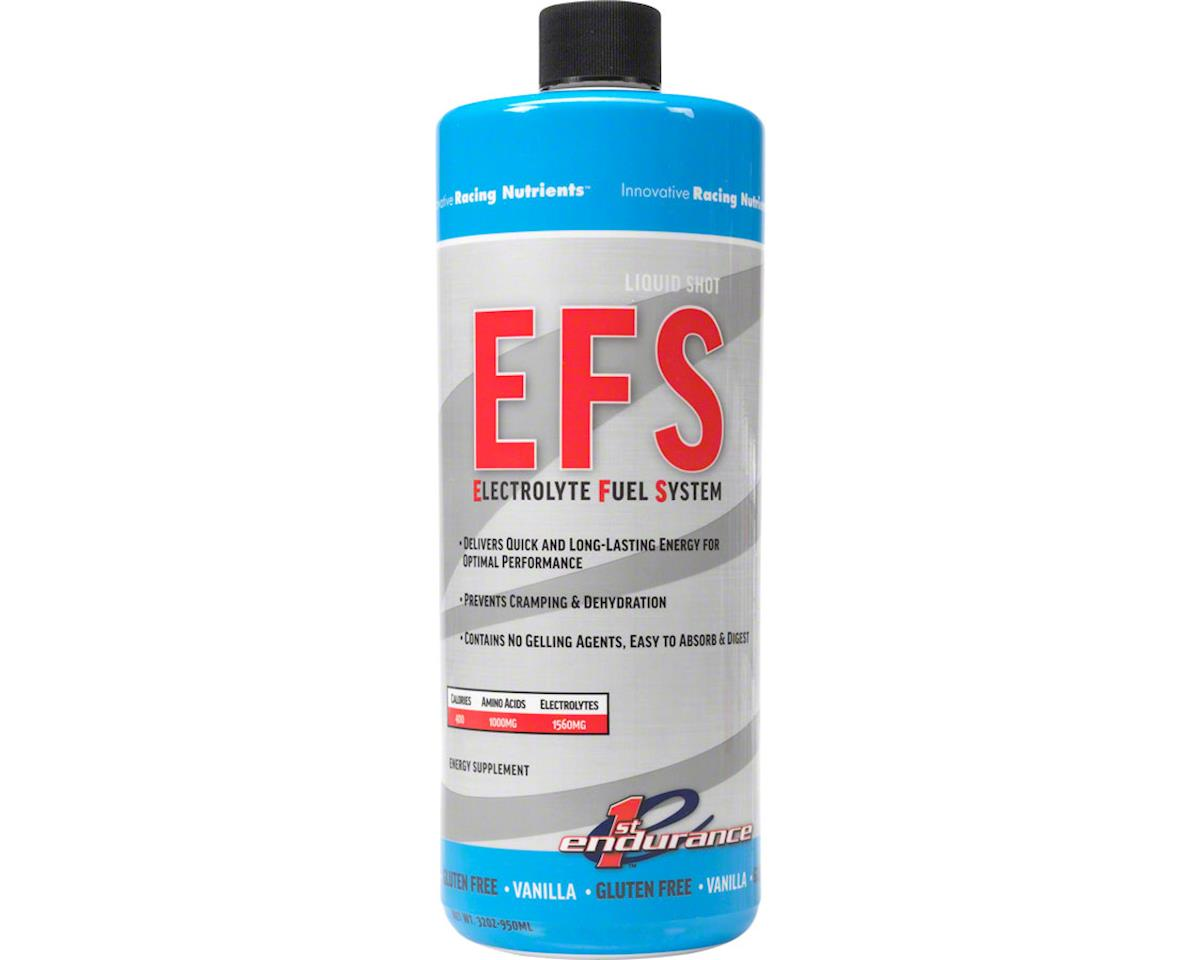 First Endurance EFS Liquid Shot 32oz Refill (Vanilla)