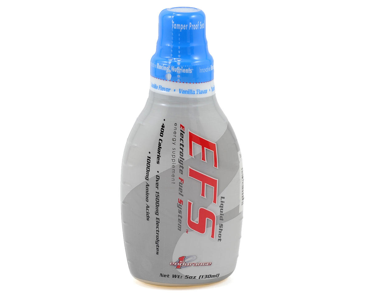 First Endurance EFS Liquid Shot (Vanilla) (6 5oz Bottles)