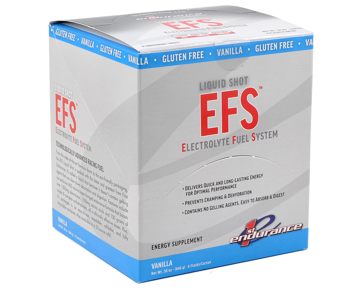 First Endurance EFS Liquid Shot (Vanilla) (Box Of 6)