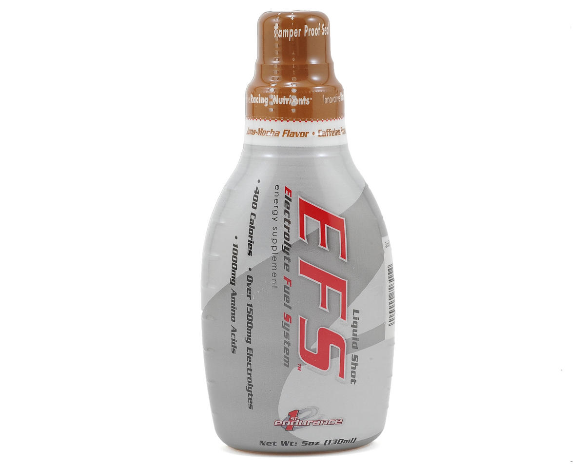 First Endurance EFS Liquid Shot (Kona Mocha) (6 5oz Bottles)