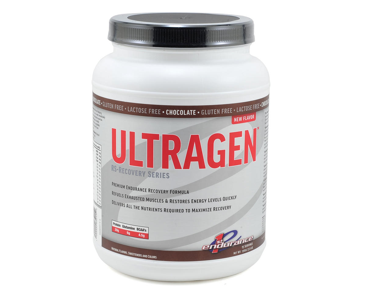 First Endurance Ultragen Recovery Mix (15 Serving Cannister) (Chocolate)