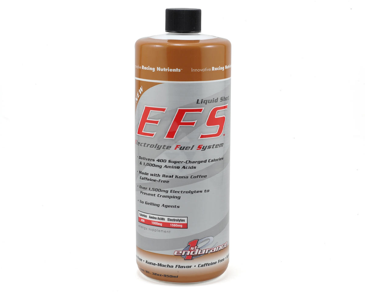 First Endurance EFS Liquid Shot (Kona-Mocha) (32oz Refill)
