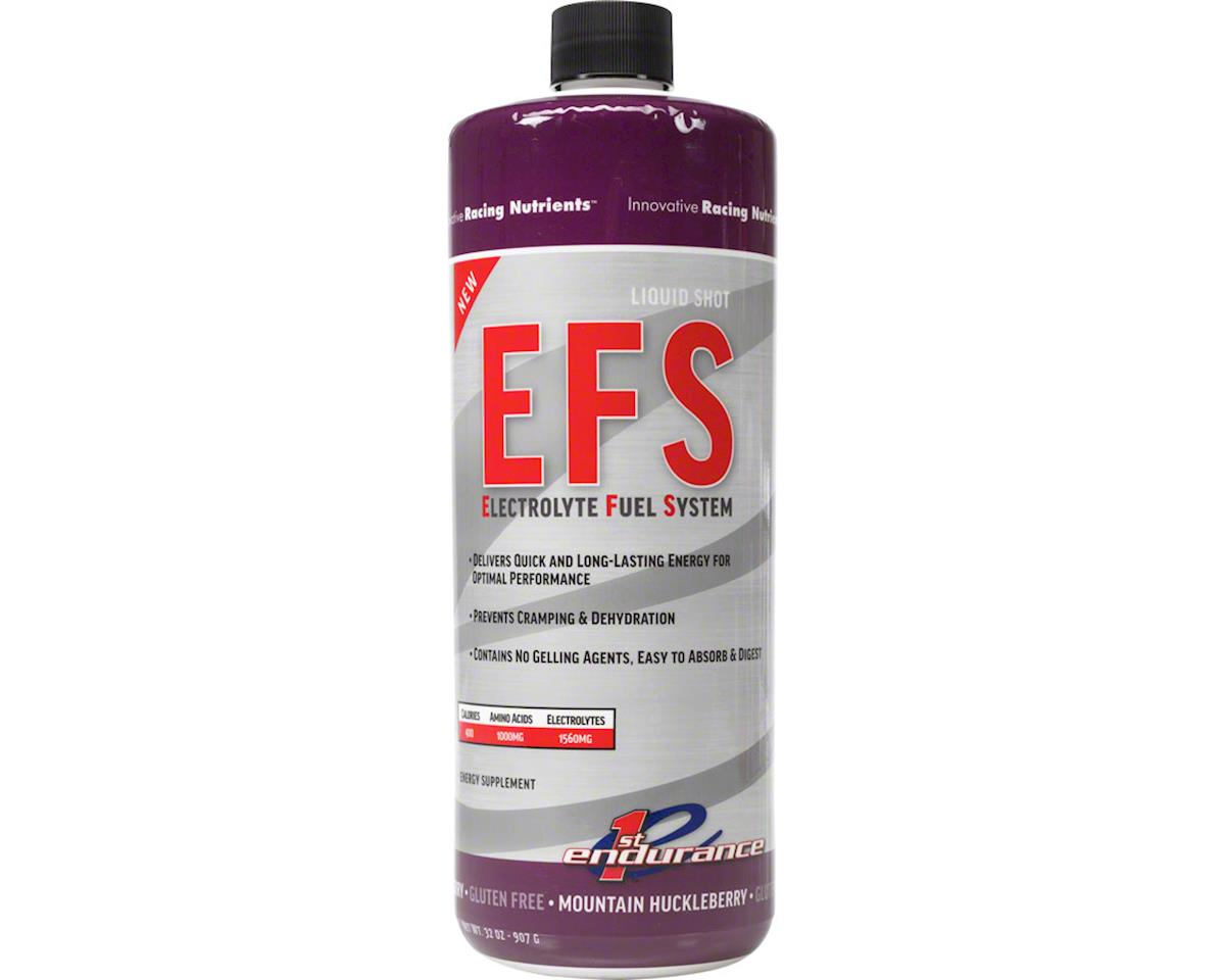 First Endurance EFS Liquid Shot (Mountain Berry) (1 32oz Bottle)