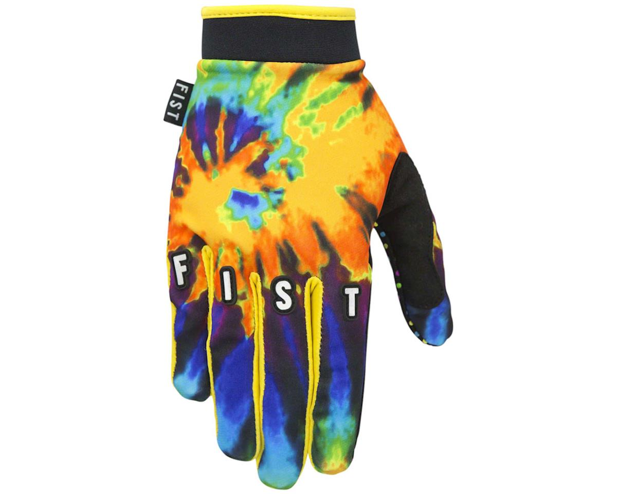 Tie Dye Full Finger Glove (Orange/Mulit Color)