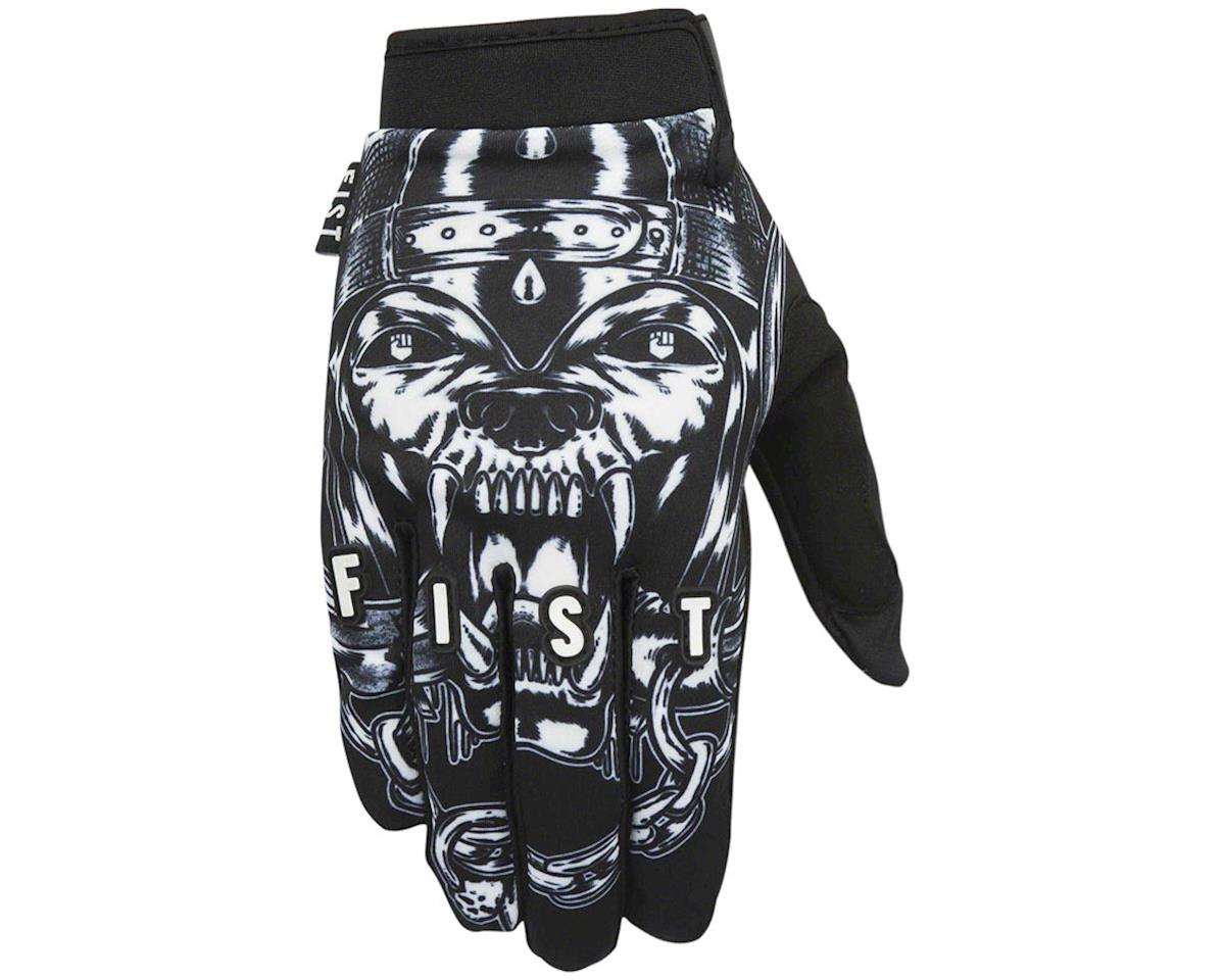Motorfist Full Finger Glove (Black/White)