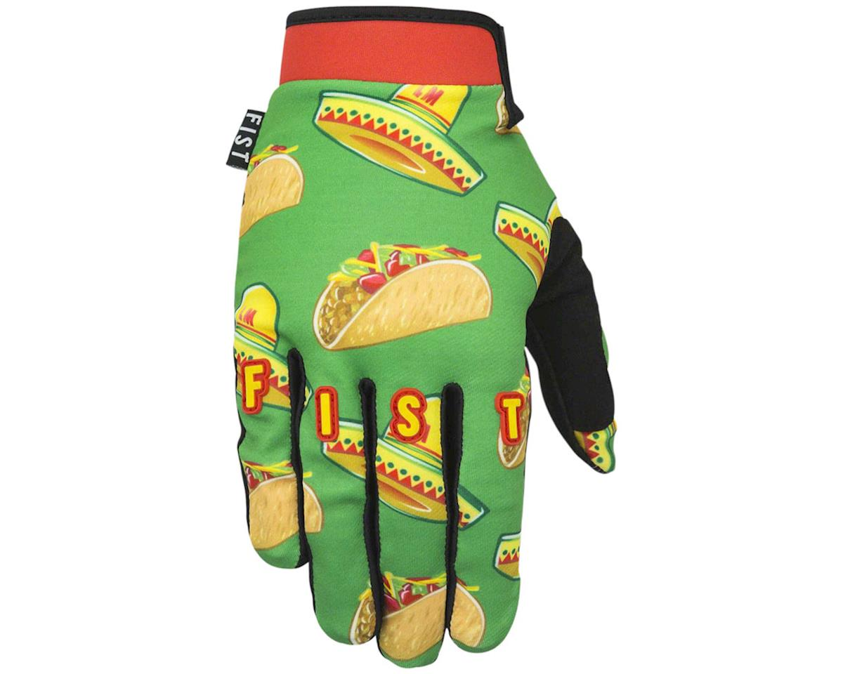 Logan Martin Signature Taco Loco Full Finger Glove (Green/Taco)