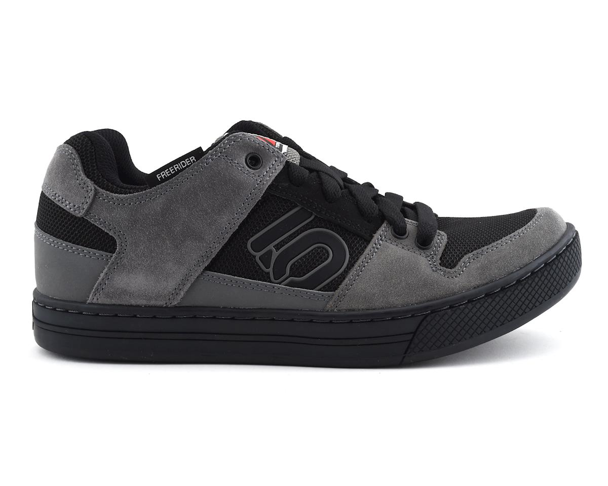 Five Ten Freerider Flat Pedal Shoe: Gray/Black, 4.5