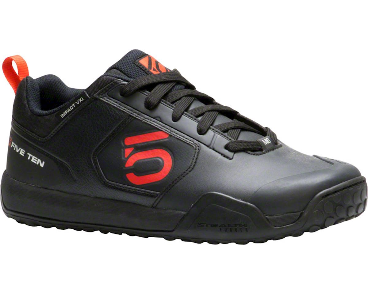 Impact VXI Flat Pedal Shoe: Team Black, 8.5