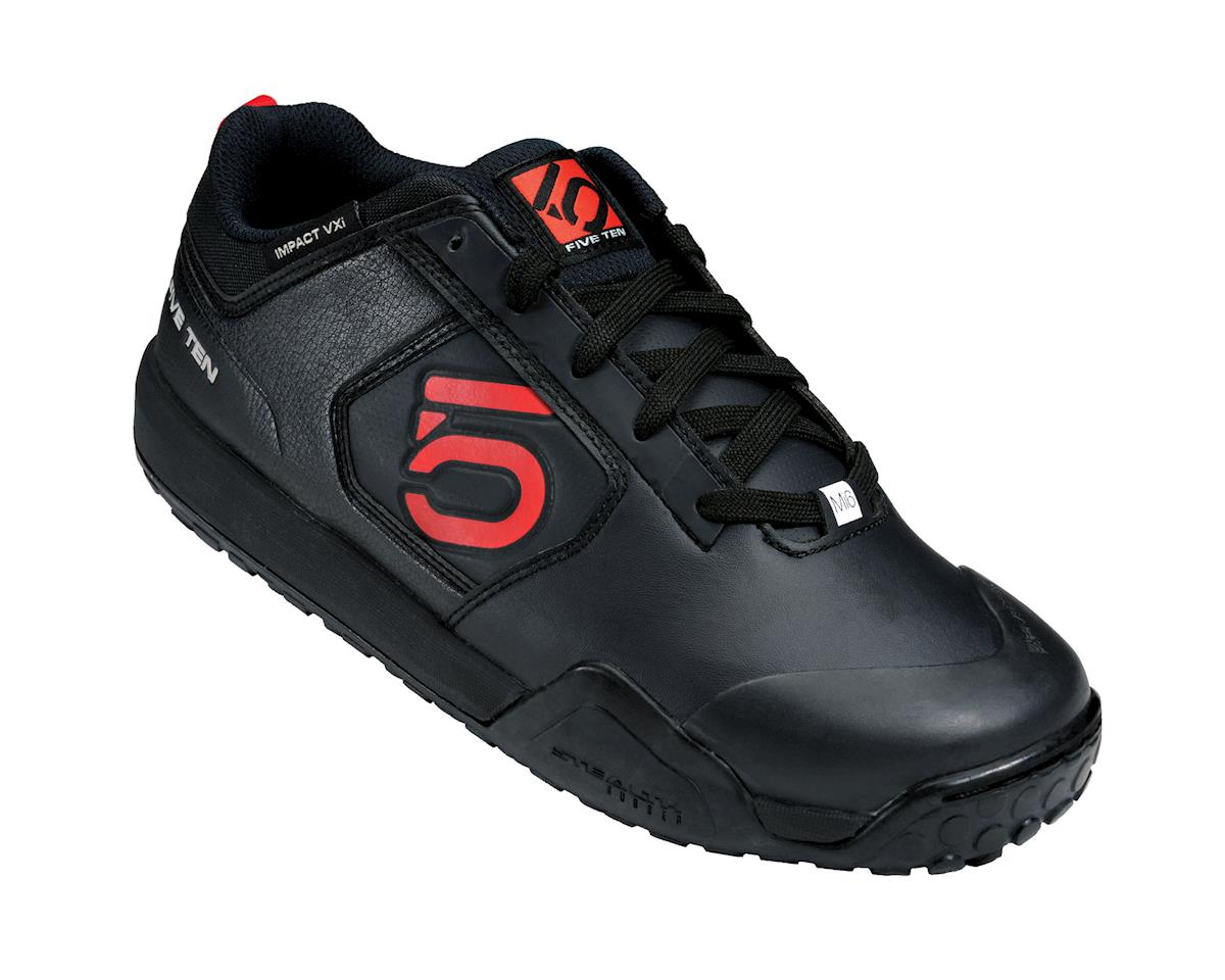 Impact VXI Flat Pedal Shoe: Team Black, 9.5