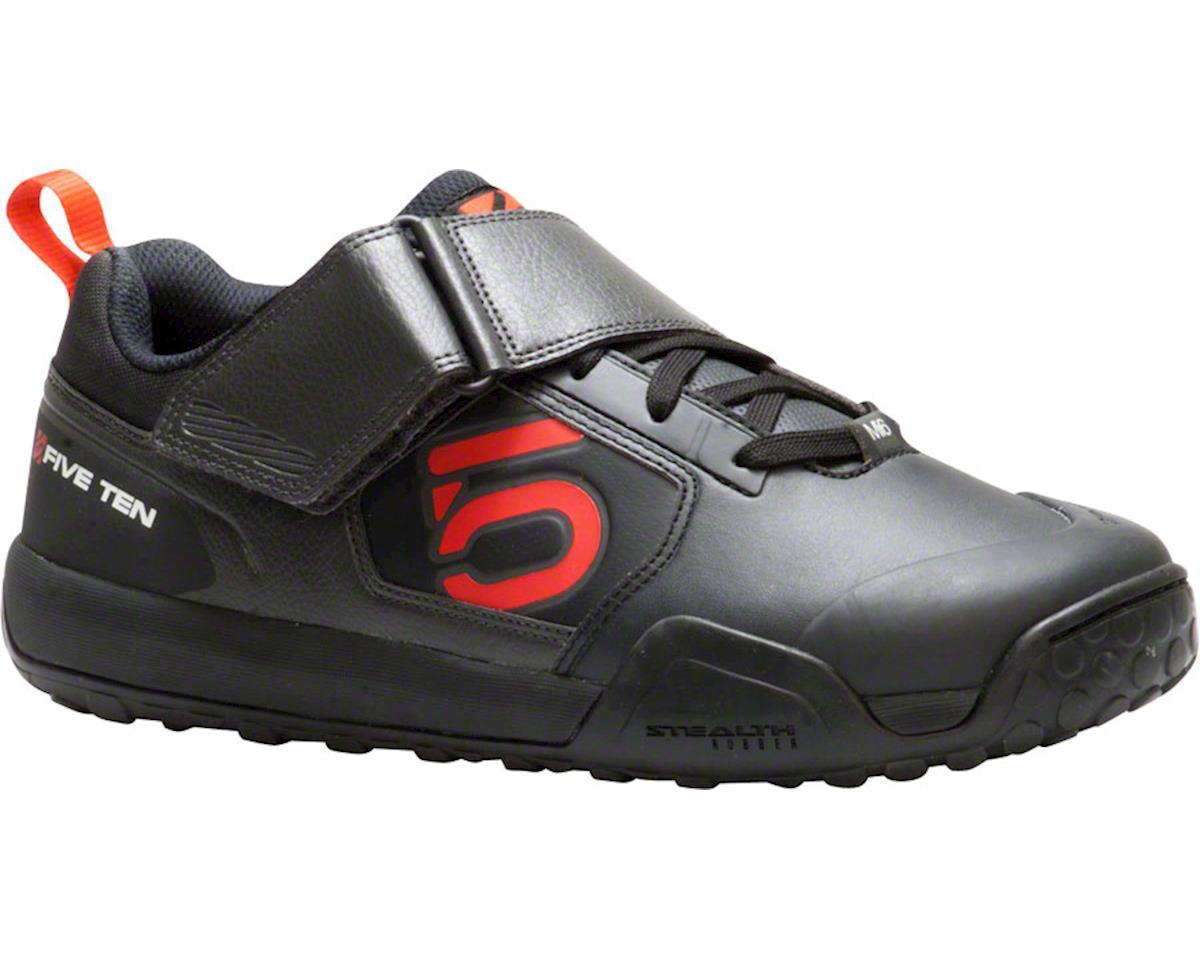 Impact VXI-CL Clipless/Flat Pedal Shoe: Team Black, 7