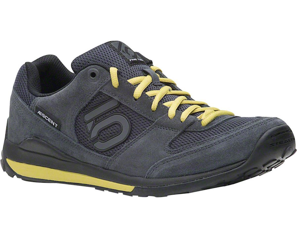Aescent Men's Approach Shoe: Dark Gray/Citron 7