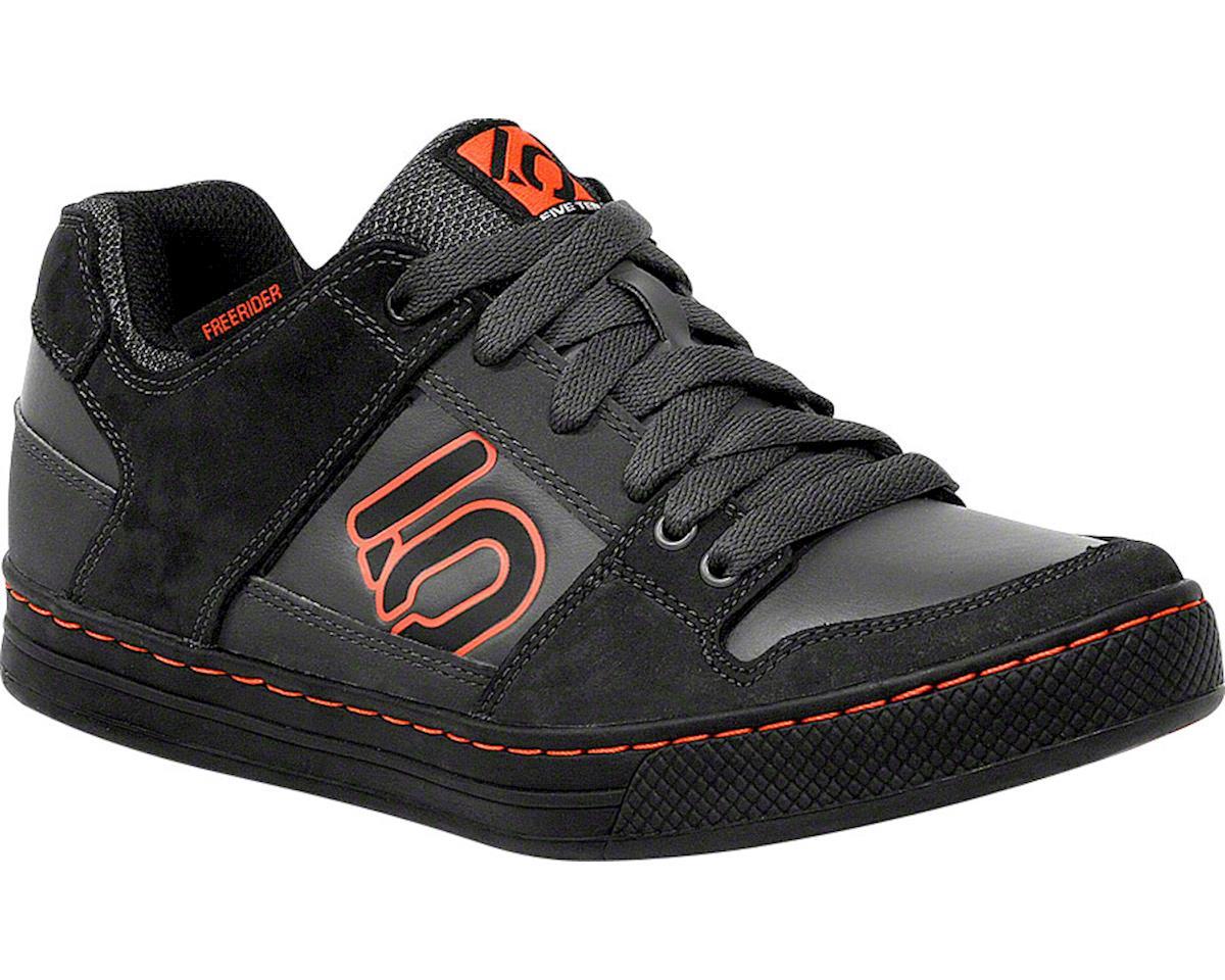 Freerider Elements Flat Pedal Shoe: Dark Gray/Black, 7.5