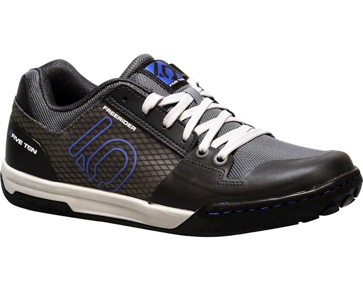 Freerider Contact Flat Pedal Shoe: Gray/Blue,  7