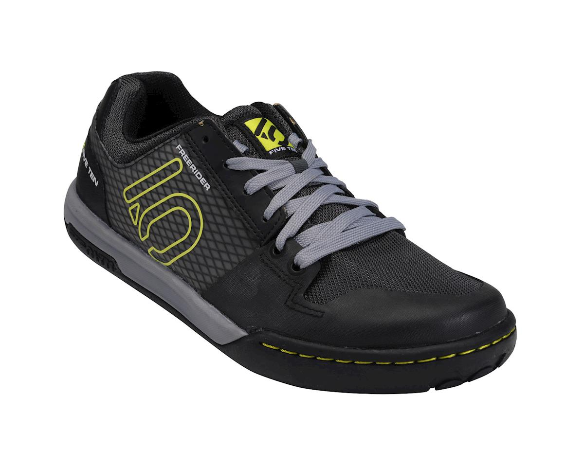 Freerider Contact Flat Pedal Shoe: Black/Lime, 11