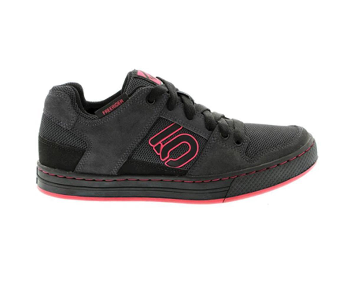 Five Ten Women's Freerider Flat Pedal Shoe (Black/Berry) (6.5)