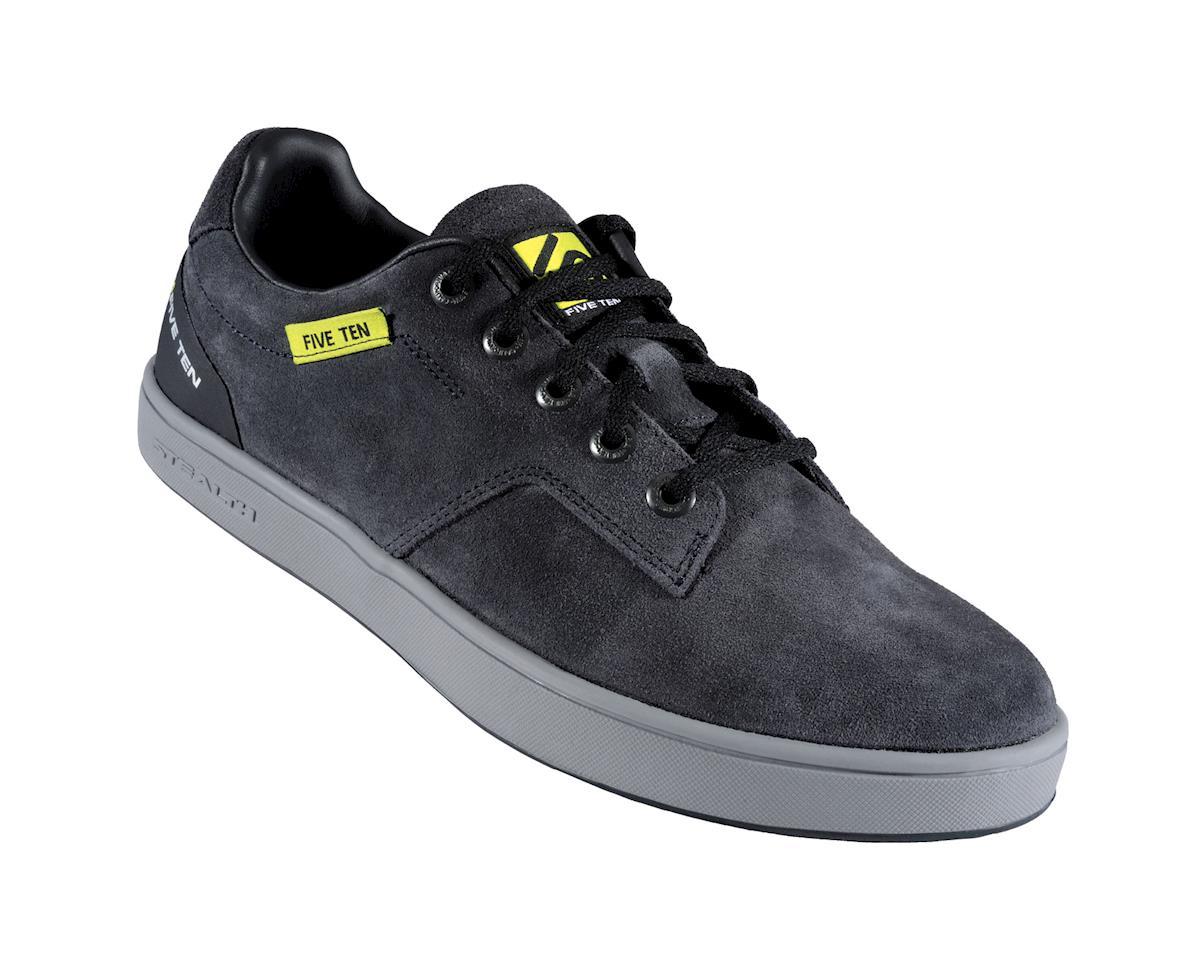 Sleuth Flat Pedal Shoe: Black/Lime, 8