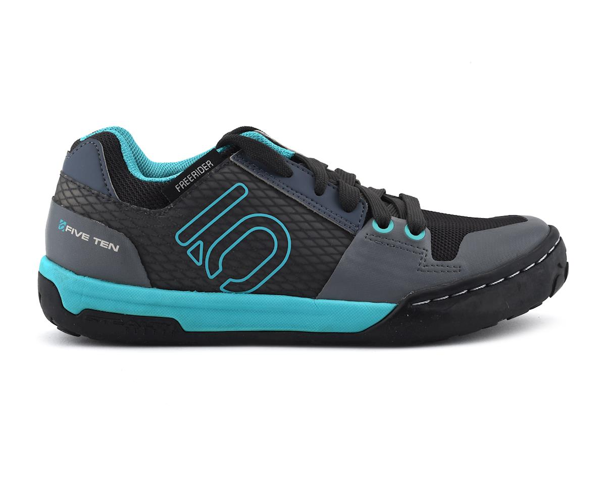 Five Ten Freerider Contact Women's Flat Shoe (Shock Green/Onix) (8)