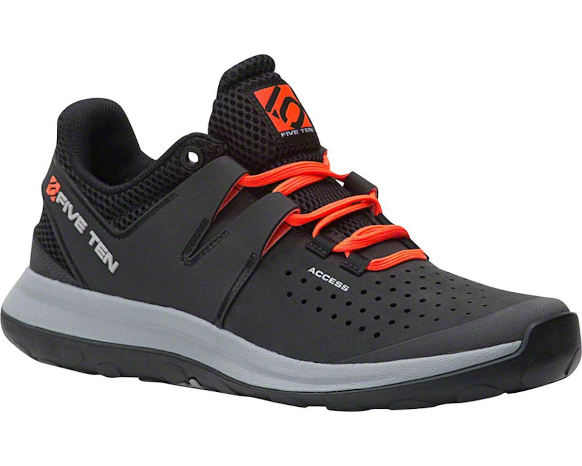 Five Ten Access Men's Approach Shoe (Carbon Leather) (10.5)