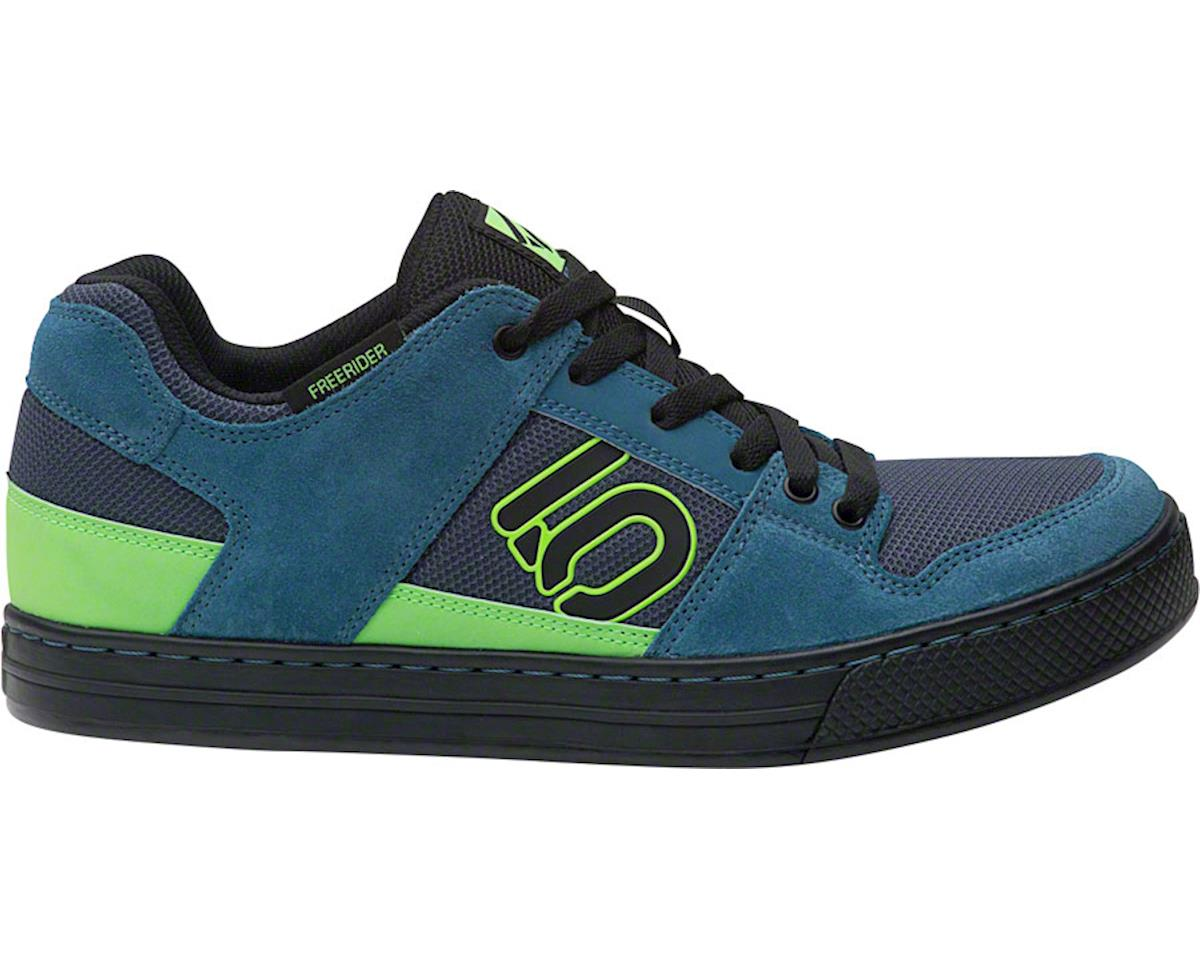 Five Ten Freerider Men's Flat Shoe (Blanch Blue/Solar Green)