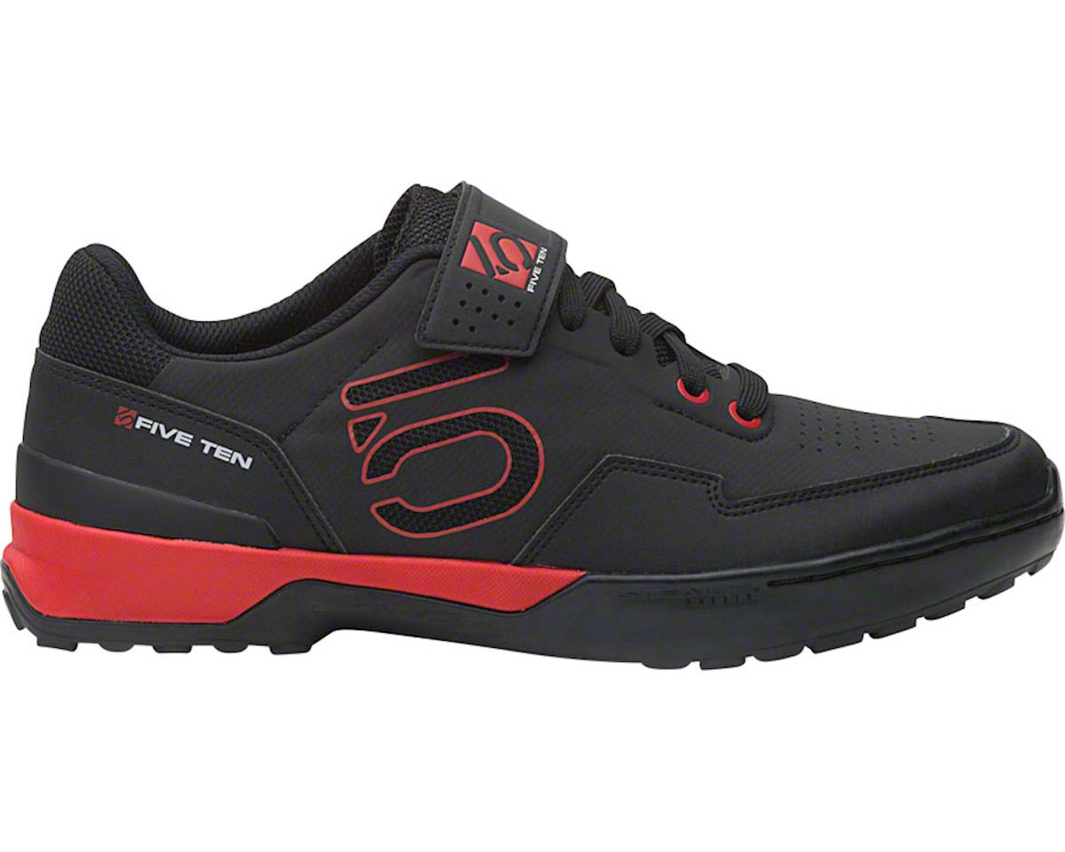 Five Ten Kestrel Lace Men's Clipless Shoe (Black/Red) (10.5)
