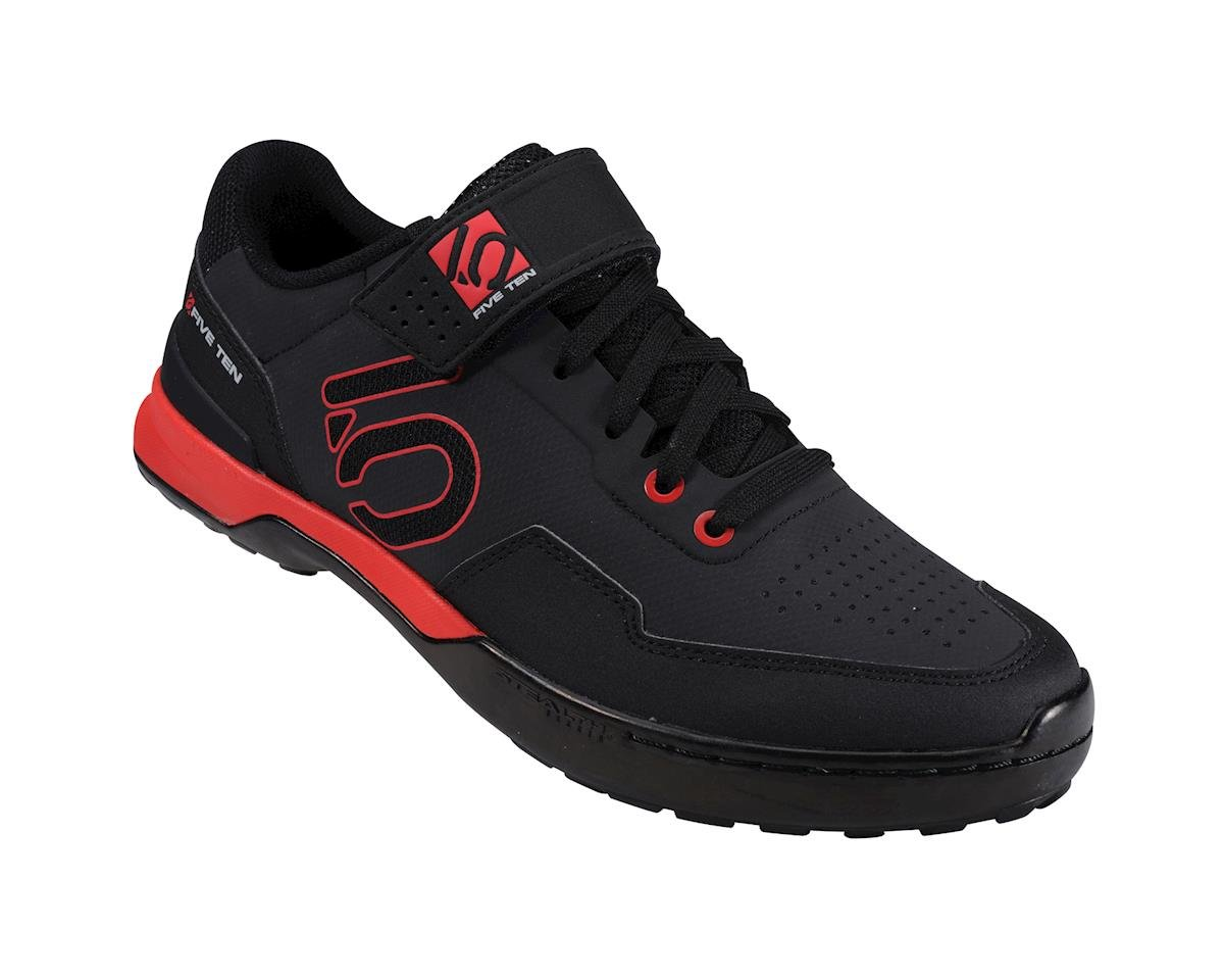 Five Ten Kestrel Lace Men's Clipless Shoe (Black/Red) (12)
