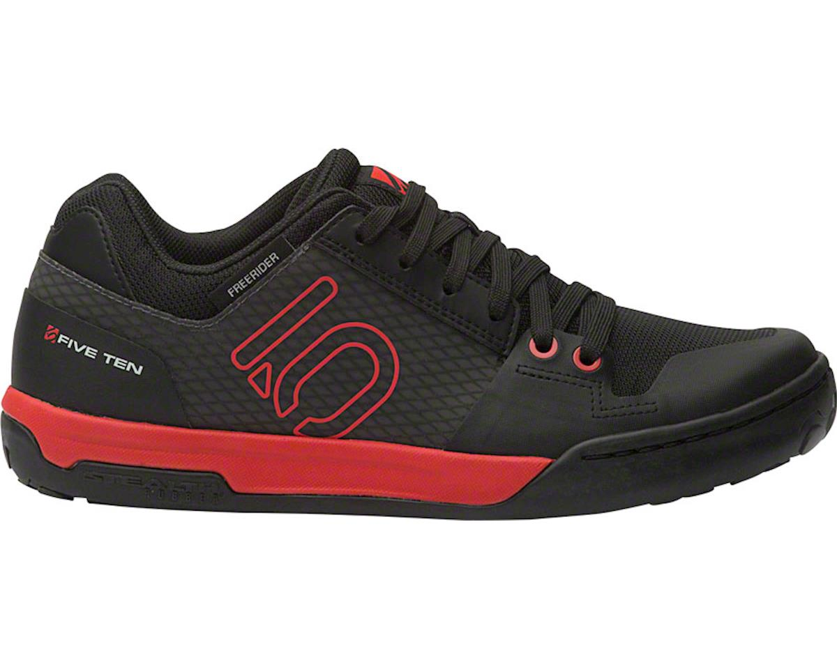 Five Ten Freerider Contact Men's Flat Shoe (Black/Red) (8.5)