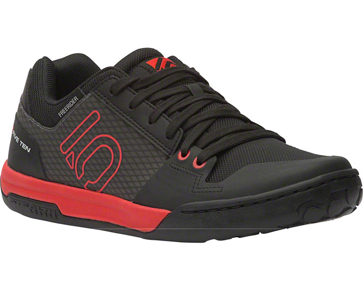 Five Ten Freerider Contact Flat Pedal Shoe (Black/Red) (10.5)