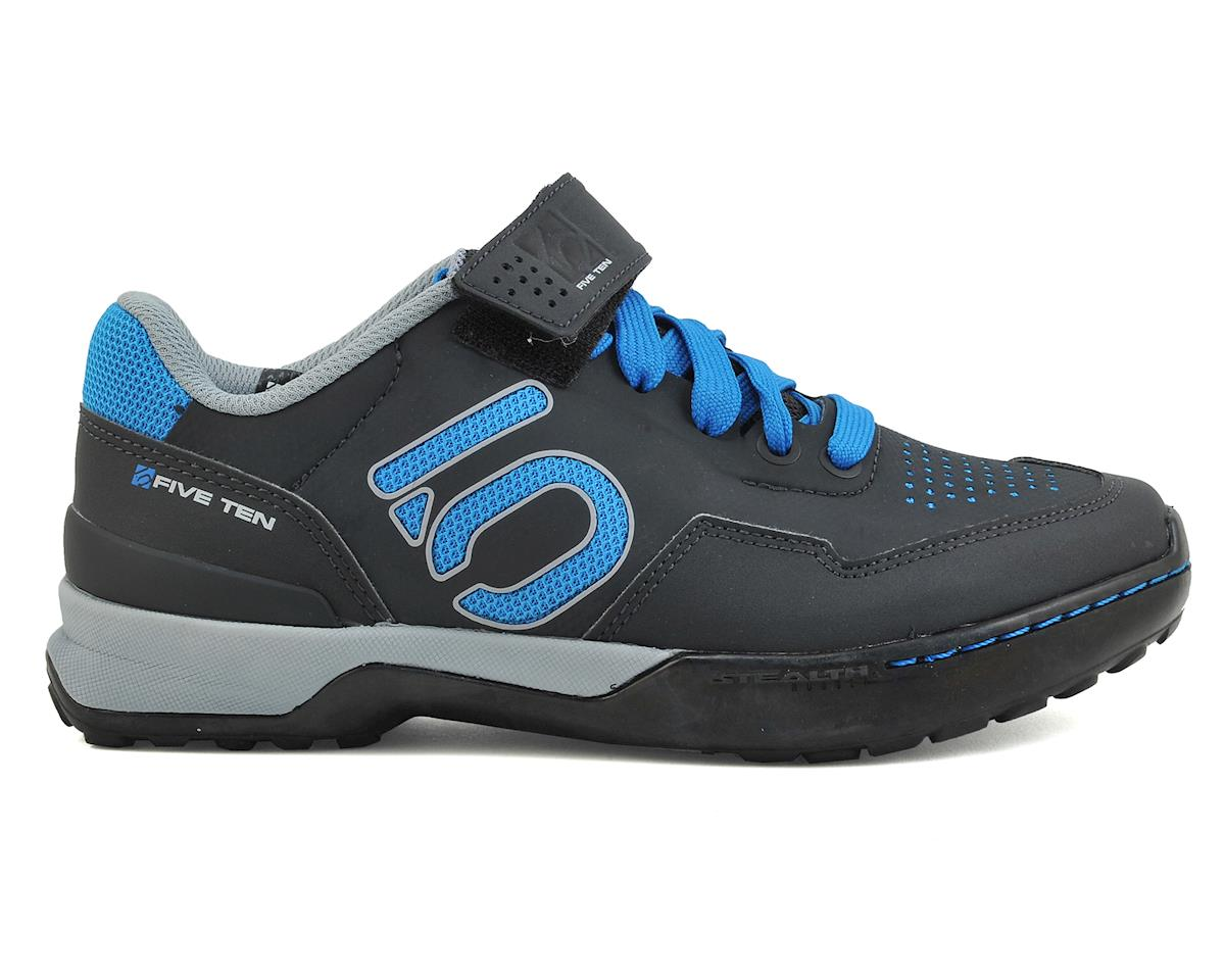 Women's Kestrel Lace MTB Shoe (Shock Blue/Carbon)