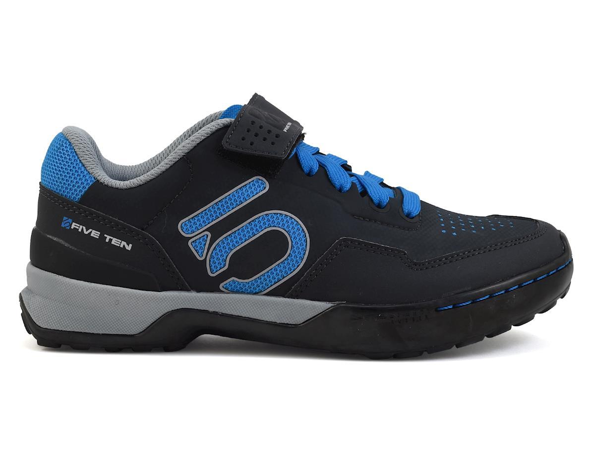 Five Ten Women's Kestrel Lace MTB Shoe (Shock Blue/Carbon) (9)