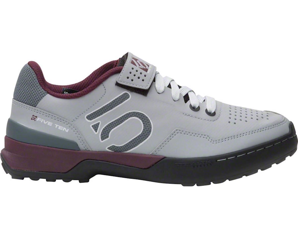 Kestrel Lace Women's Clipless Shoe: Maroon/Onix 9.5