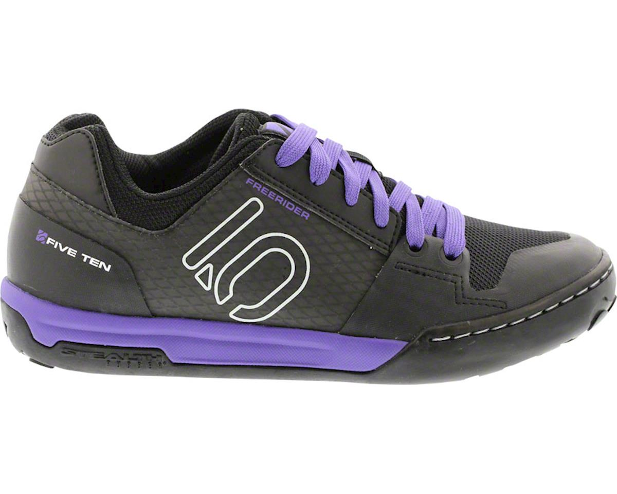 Freerider Contact Women's Flat Pedal Shoe: Split Purple 10.5