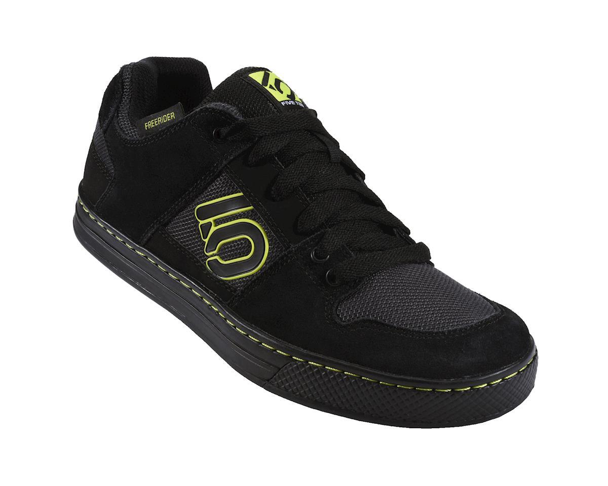 Five Ten Freerider Men's Flat Pedal Shoe (Black Slime)